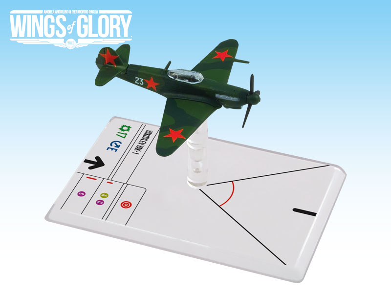 Wings of Glory WW2 : Yakovlev Yak-1 (Litvjak) by Ares Games Srl