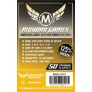 Premium Mini USA Game Size Sleeves - clear - 41 X 63 MM (50 Pack) by Mayday Games