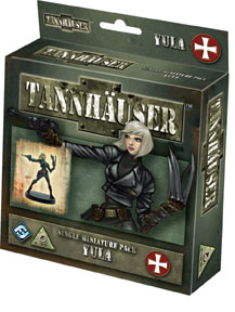 Tannhauser Board Game : Yula Kšrlitz Figure Expansion by Fantasy Flight Games