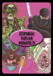 Zombie Ninja Pirates Card Game by Gozer Games LLC