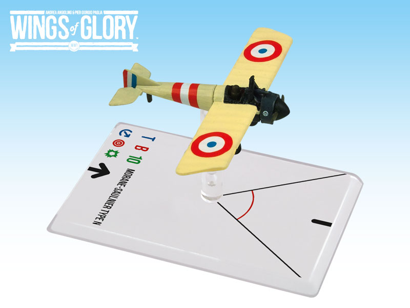 Wings of Glory WWI : Morane-Saulnier Type N (Chaput) by Ares Games Srl