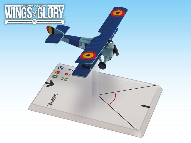 Wings of Glory WWI : Hanriot HD.1 (Coppens) by Ares Games Srl