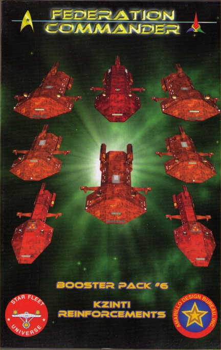 Federation Commander Booster Pack #6 by Amarillo Design Bureau, Inc.