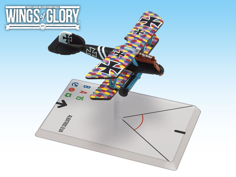 Wings of Glory: WWI: Albatros D.VA (Jacobs) by Ares Games